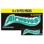 Wrigley's Airwaves Black Mint 6 Packs