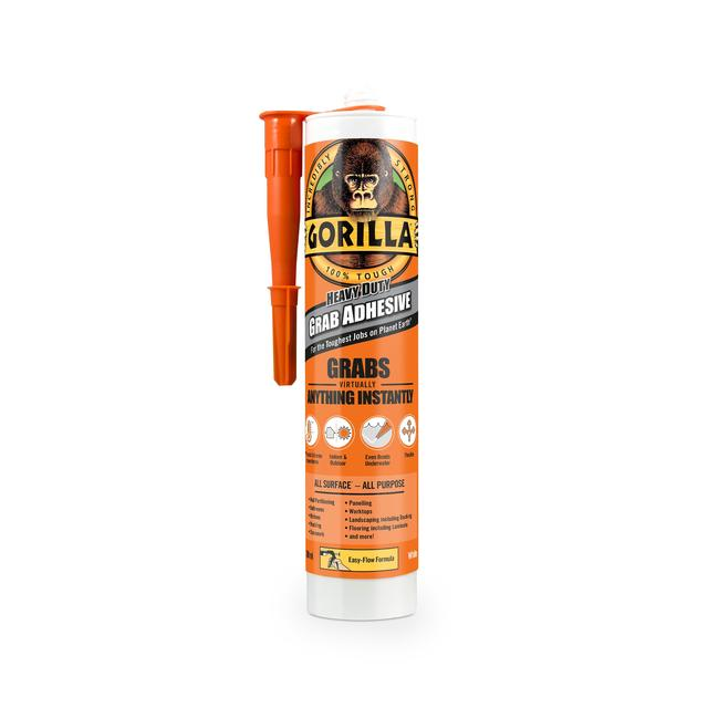 Gorilla Heavy Duty Grab Adhesive 290Ml