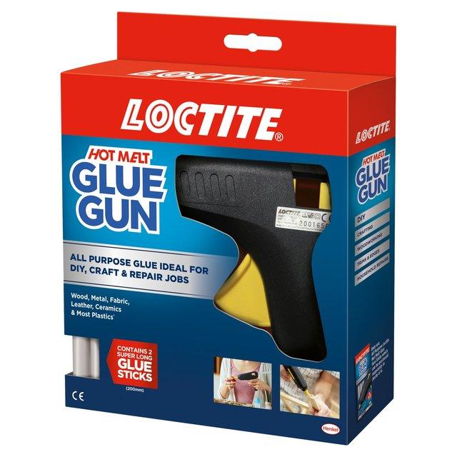 Loctite Hot Melt Glue Gun Contains 2 Free Glue Sticks
