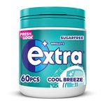 Wrigley's Extra Cool Breeze Sugarfree 60 Pieces