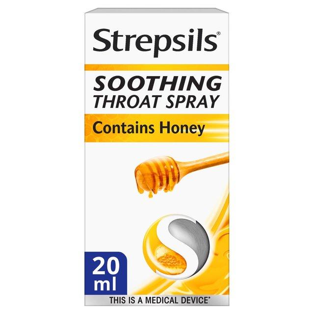 Strepsils Soothing Spray Honey