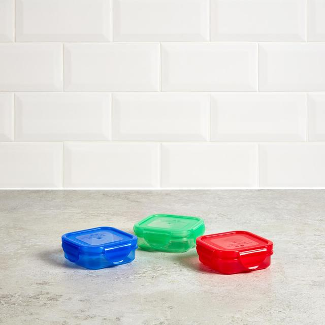 Morrisons Blue / Red / Green Snack Boxes