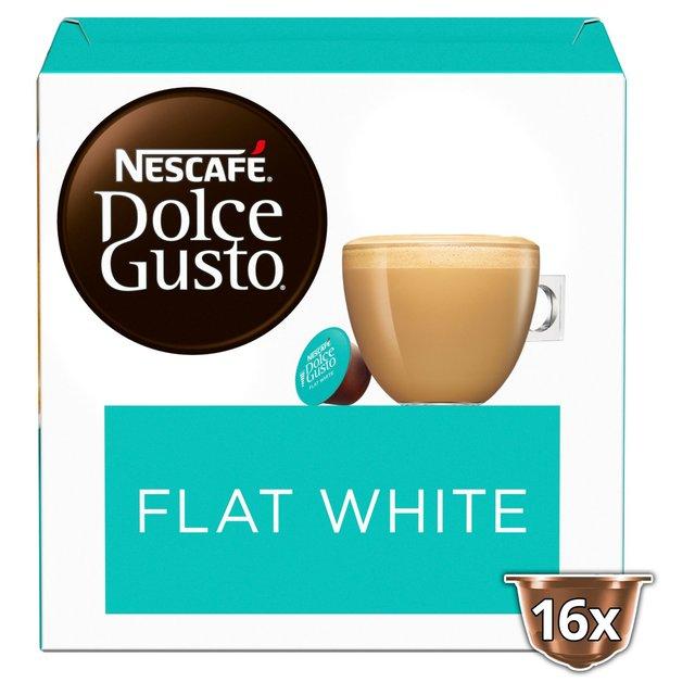 Nescafe Dolce Gusto Flat White Pods 16