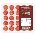 Morrisons 25 British Beef Meatballs