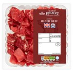 Morrisons British Diced Beef