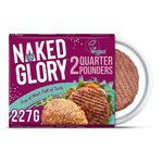 Naked Glory 2 Meat Free Burgers