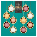 Morrisons The Best Gin Shimmered Chocolate Baubles