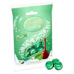 Lindt Lindor Mint Milk Chocolate Truffles