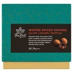 Morrisons The Best Spiced Orange Salted Caramel Truffles