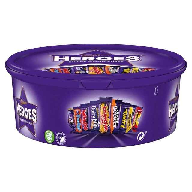 Cadbury Heroes Chocolate Tub