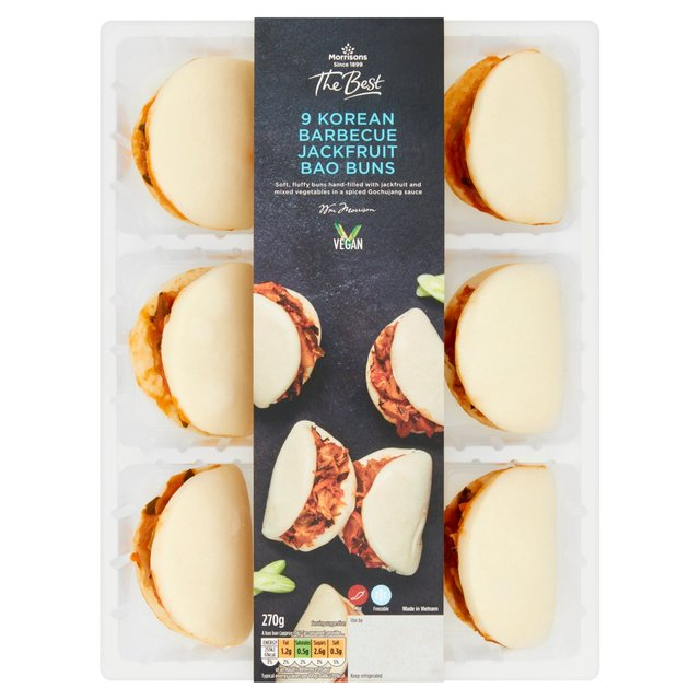 Morrisons The Best Jackfruit Bao Buns