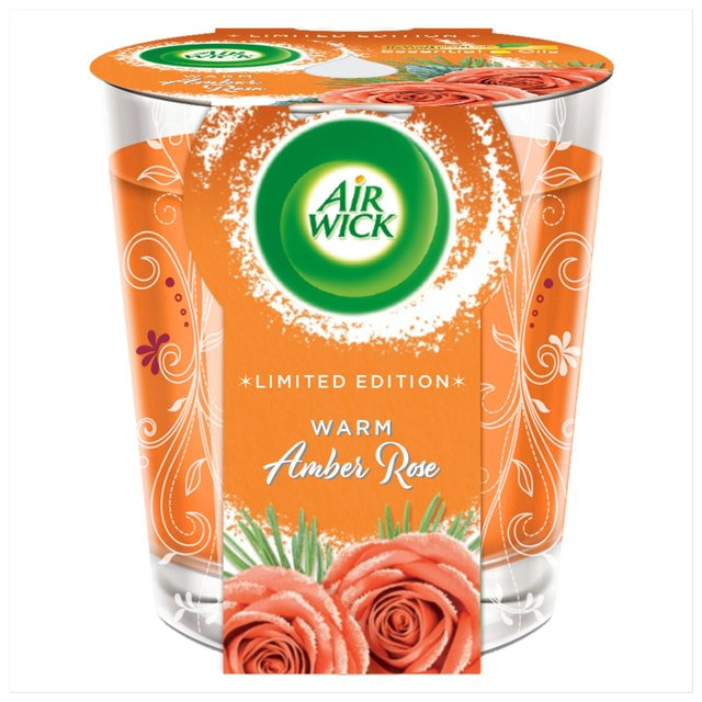 Air Wick Candle Warm Amber Rose