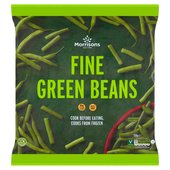 Morrisons Fine Whole Green Beans