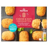 Morrisons Ham & Cheese Croquettes