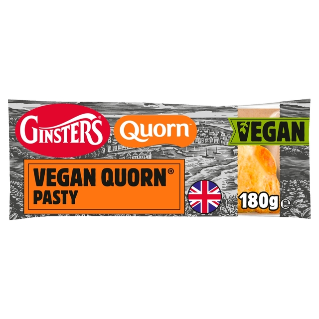Ginsters Quorn Vegan Steak Pasty | Morrisons