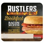 Rustlers All Day Breakfast Bacon Muffin