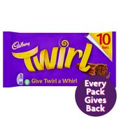 Cadbury Twirl Single 10 Bars