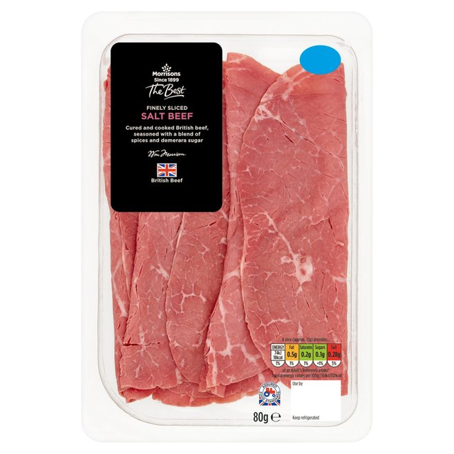 Morrisons The Best Finely Sliced Salt Beef