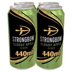 Strongbow Cloudy Apple Cider Cans
