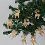 Morrisons 8 Stag Light Chain