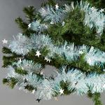 Morrisons Iridescent Star Tinsel