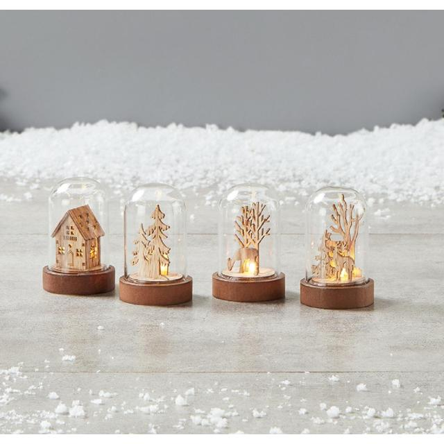 Morrisons Mini Wooden Light Up Scene