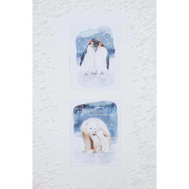 Morrisons Penguin & Polar Bear Christmas Cards