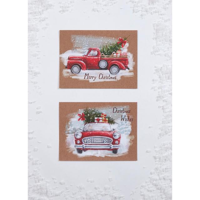 Morrisons Truck & Car Christmas Cards