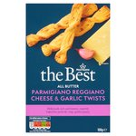 Morrisons The Best Parmesan & Garlic Twists