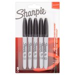 Sharpie Fine Permanent Marker 5Ct