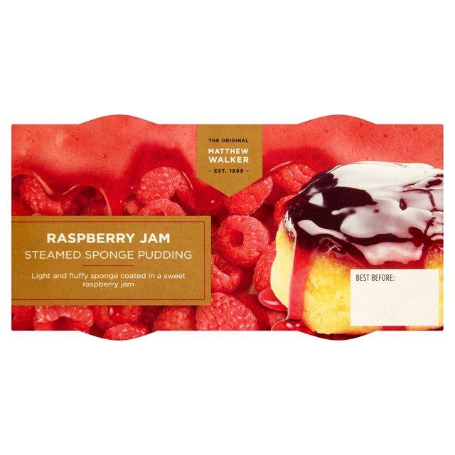 Matthew Walker Raspberry Sponge Pudding