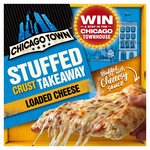 Chicago Town Takeaway Large Cheesy Stuffed Pizza