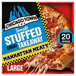 Chicago Town Takeaway Large Stuffed Manhattan Meaty Pizza