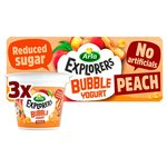 Arla Explorers Bubble Yogurt Peach