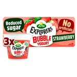 Arla Explorers Bubble Yogurt Strawberry