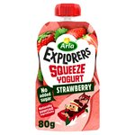 Arla Explorers Squeeze Yogurt Strawberry