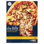 Morrisons The Best Chicken And Pesto Pizza