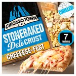 Chicago Town Stonebaked Deli Crust Cheese Fest Pizza