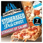 Chicago Town Stonebaked Deli Crust Straight -Up Salami Pizza