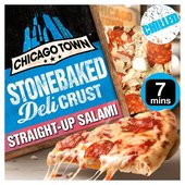 Chicago Town Stone Baked Deli Crust Straight -Up Salami