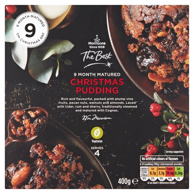 Morrisons The Best Christmas Pudding