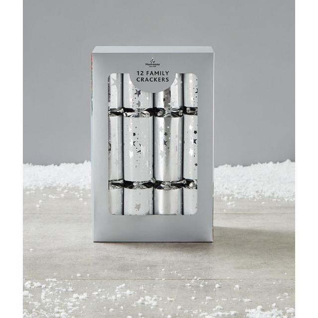 Morrisons Silver Family Crackers