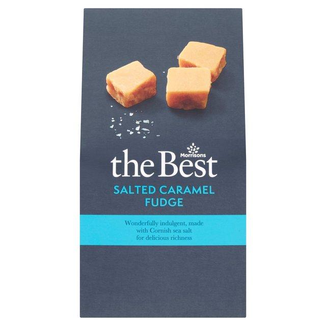 Morrisons The Best Salted Caramel Fudge