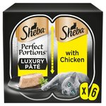 Sheba Perfect Portions Luxury Pate With Chicken