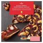 Morrisons Black Forest Profiterole Gateau
