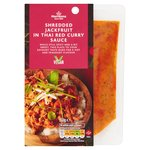 Morrisons Shredded Jackfruit In Thai Red Curry Sauce
