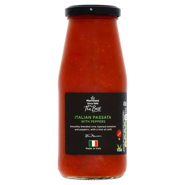 Morrisons The Best Passata With Peppers