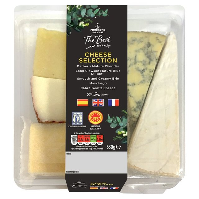 Morrisons The Best Cheese Selection