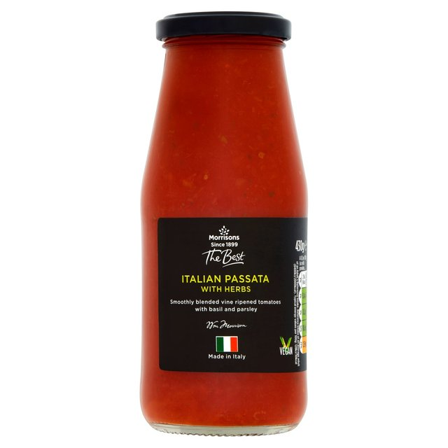 Morrisons The Best Passata With Herbs