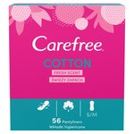 Carefree Cotton Fresh Scent Pantyliners
